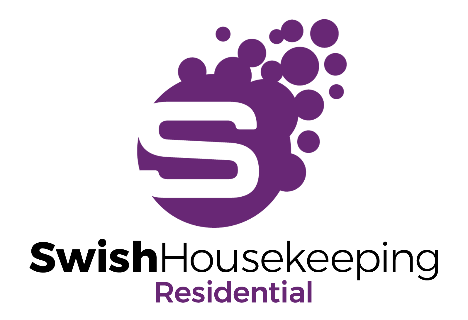 Swish Housekeeping Residential Logo